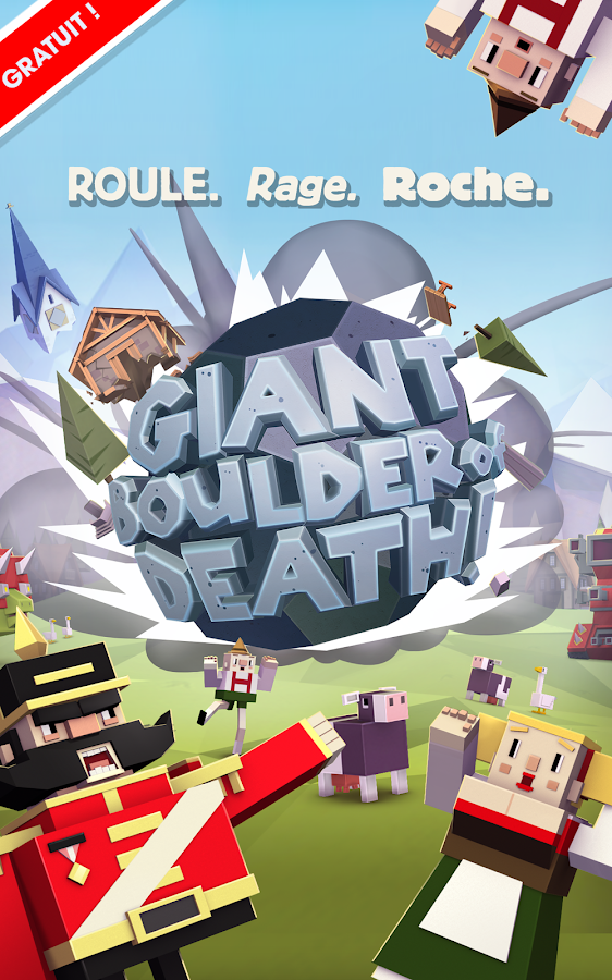 Giant Boulder of Death- capture d'écran