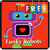 Kids Memory Game: Robots