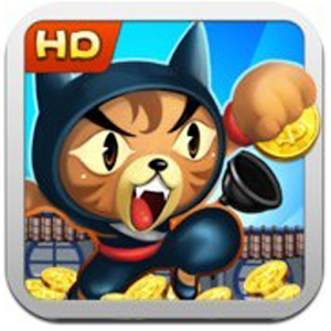 Temple Roof Cat Run for PC and MAC