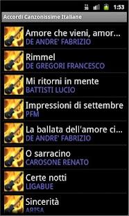 Best Italian Songs Chords- screenshot thumbnail