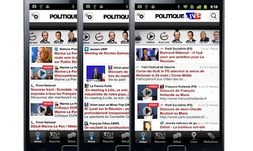 Politique Live - screenshot thumbnail