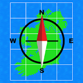 Irish Grid Ref Compass