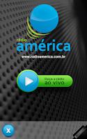Screenshot of Rádio América AM 580