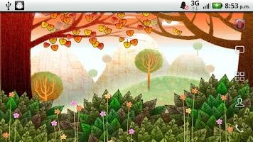 Screenshot of Autumn Leaves