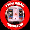 Delhi Metro Navigator icon
