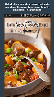 Healthy Slow Cooker Recipes Fitness app screenshot for Android