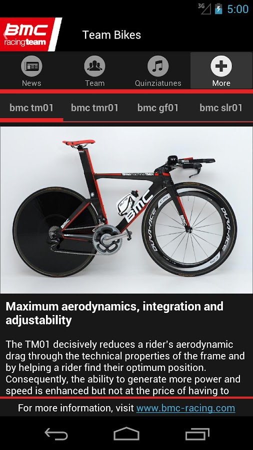 BMC Racing Team - screenshot