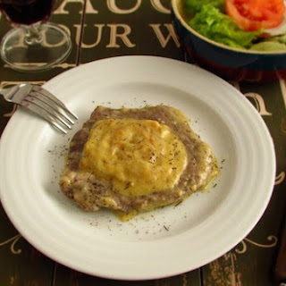 Steaks With Béchamel Sauce.