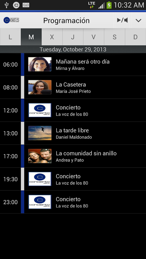 Radio Concierto - Chile - screenshot