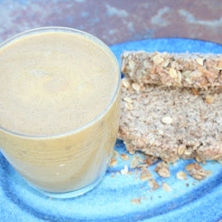 Healthy Banana Nut Bread Smoothie.