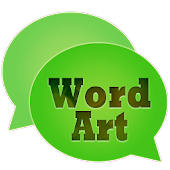 WordArt Chat Sticker for Chat