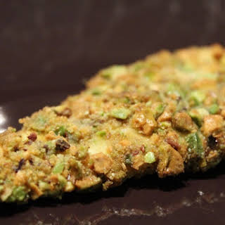 Pistachio-coated Chicken Cutlets.