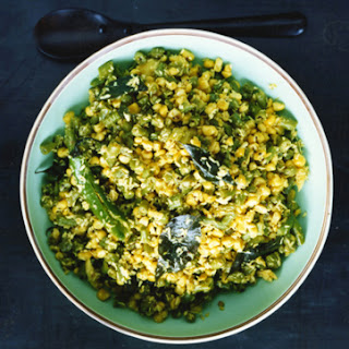 Green Bean, Corn, and Coconut Stir-Fry (Thoren)
