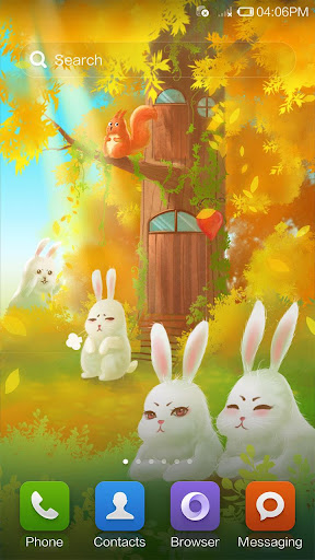 Bunny Forest Live Wallpaper