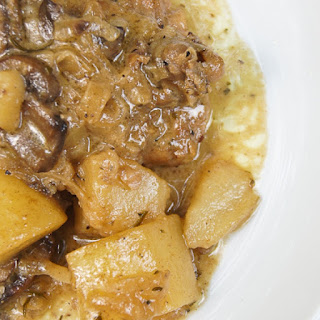 Creamy Chicken Stew With Potatoes