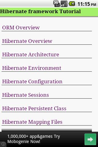 Hibernate Tutorial