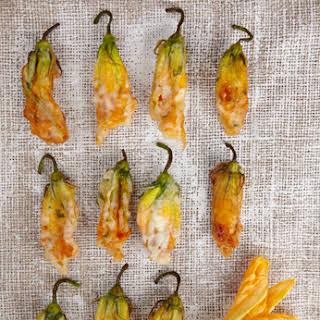 Fried Zucchini Blossoms.