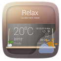 RELAX THEME GO WEATHER EX icon