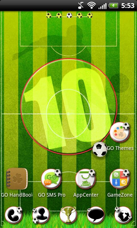 Football Theme for GO Launcher- screenshot