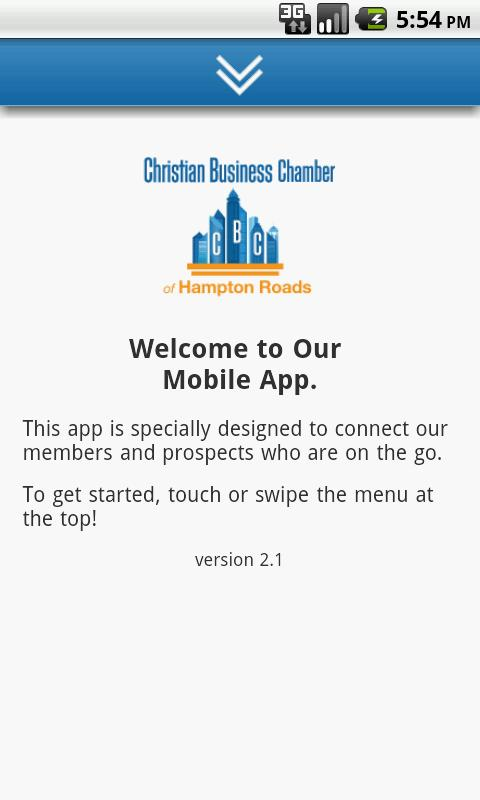 Christian Business Chamber- screenshot