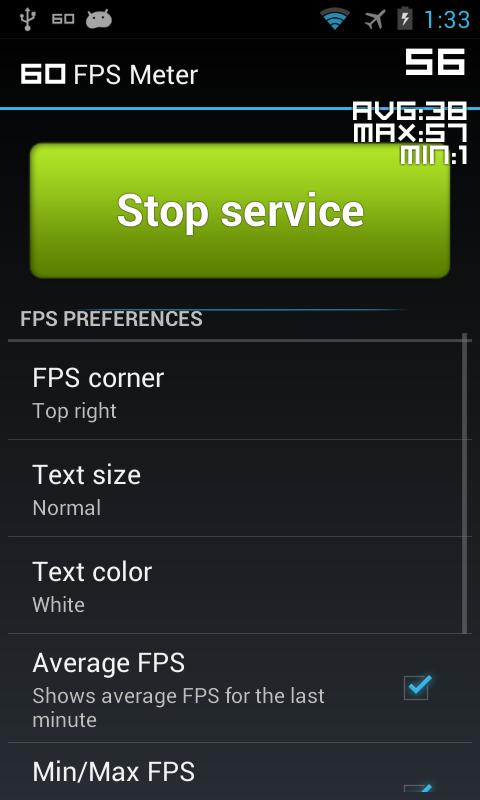 FPS Meter - screenshot