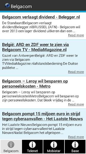 Telecom Nieuws België
