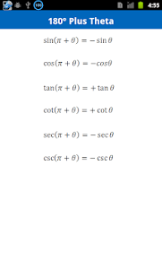 Trigonometry Formulas Free- screenshot thumbnail