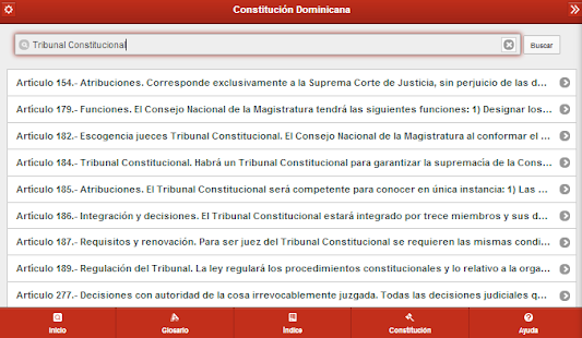 Constitución  Dominicana- screenshot thumbnail