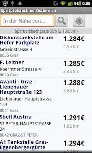 Spritpreisrechner Österreich- screenshot thumbnail