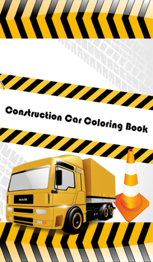 Excavator Coloring Book