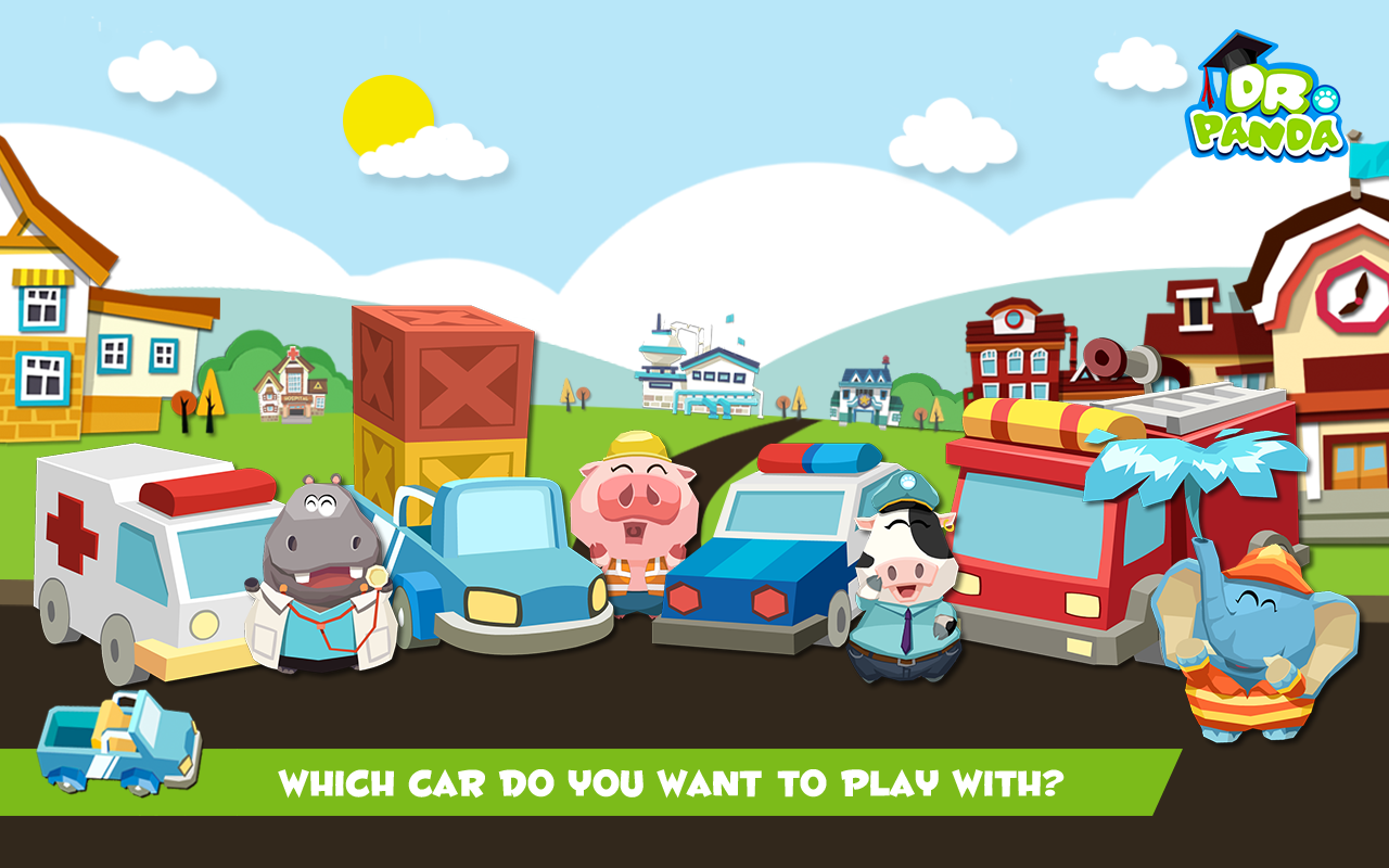Screenshots of Dr. Panda's Toy Cars for iPhone