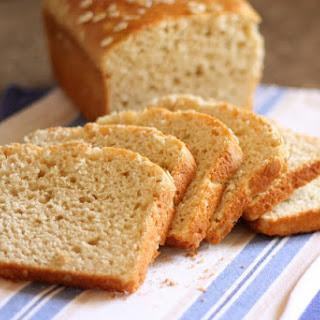 Honey and Oat Gluten Free Bread.