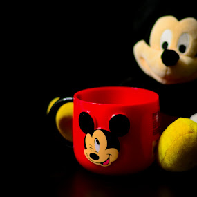 Mickey Mouse by Mithun Das - Artistic Objects Toys