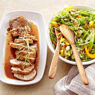 Teriyaki Pork with Asian Slaw