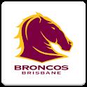 Brisbane Broncos SpinningLogo icon