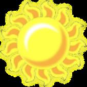 Sun Battery Widget