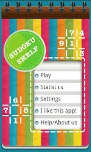 Sudoku Shelf- screenshot thumbnail