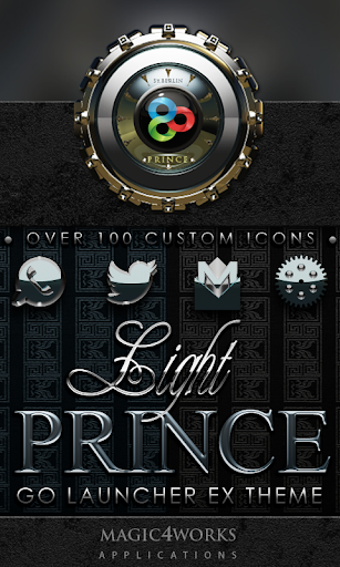 GO Launcher Theme Prince