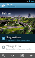 Screenshot of Iran Travel Guide by Triposo