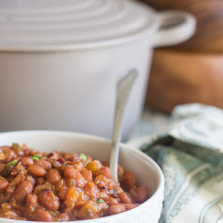 Sweet and Spicy BBQ Baked Beans