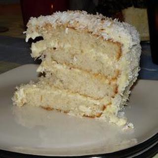 Brazilian-Style Moist Coconut Cake