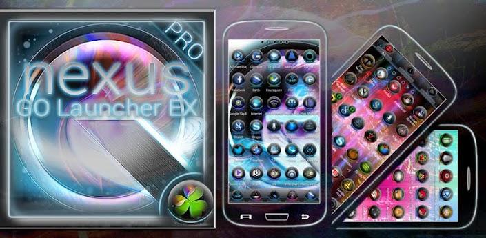 Nexus Q GO Launcher EX Theme 1.6