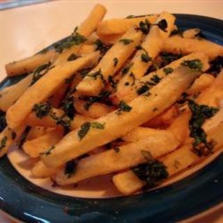 Cilantro French Fries