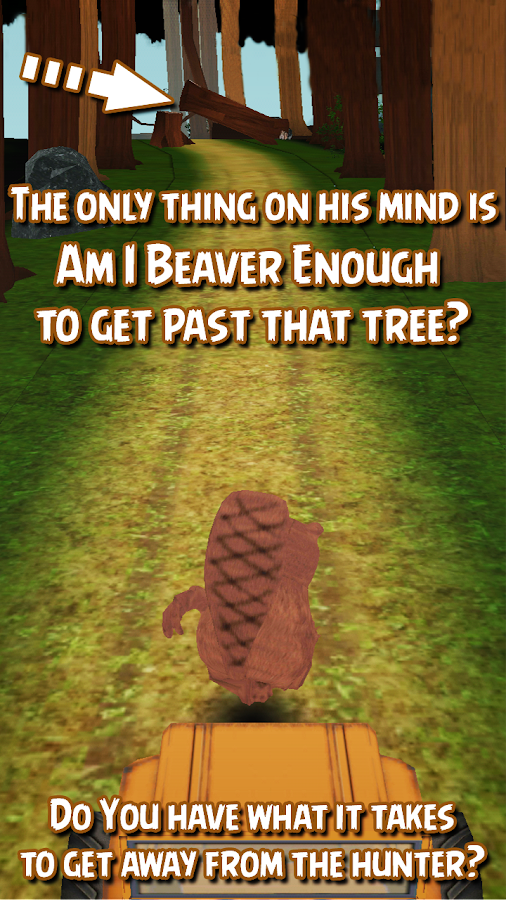 Beaver Run 3D Endless Runner - screenshot