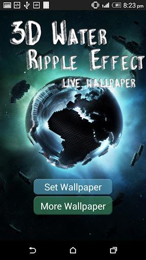 3D Water Ripple Effect LWP