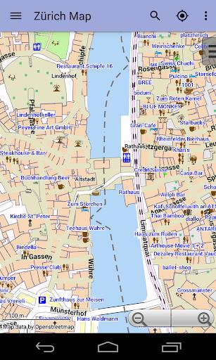 玩旅遊App|Zurich Offline City Map免費|APP試玩
