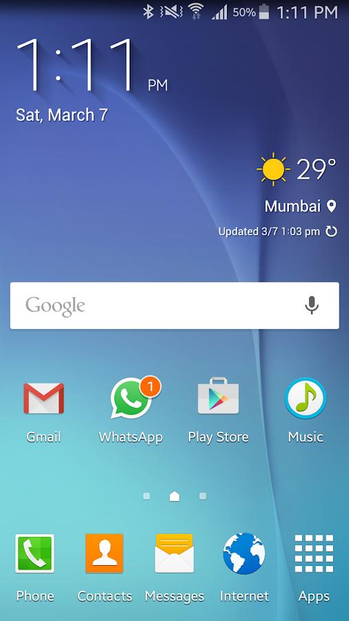 S6 Zooper Widgets - screenshot