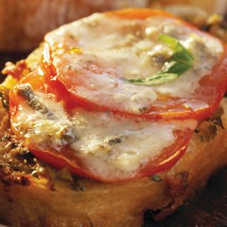 Blue Cheese And Tomato Crostini
