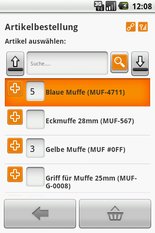 midcom CRM ERP Zeiterfassung- screenshot