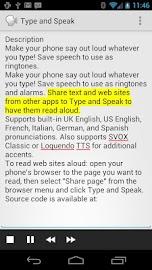 Type and Speak Screenshot 4